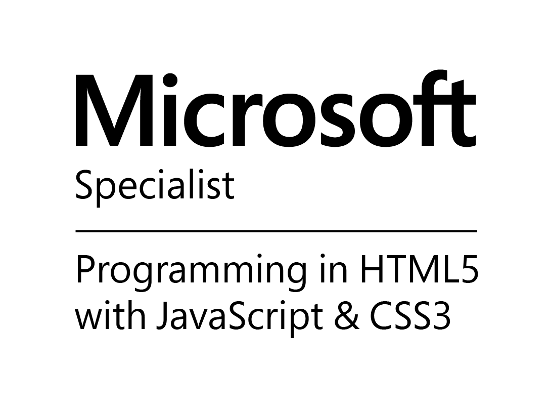 Web de Verificacion Microsoft Specialist Programming in HTML5 with JavaScript and CSS3